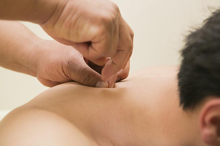 当院の肩こり・頭痛の施術について